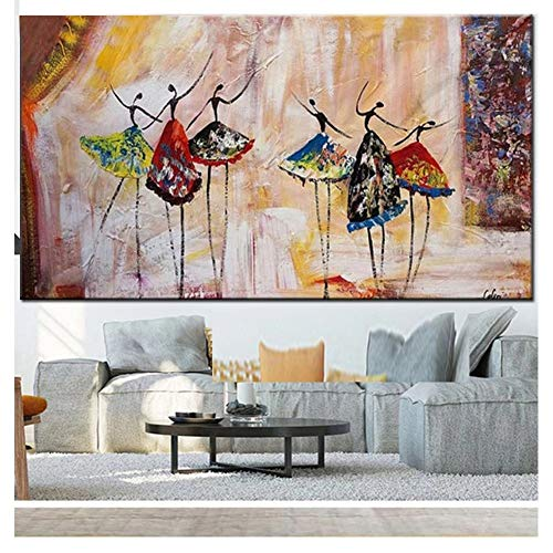 DIY 5D Diamond Painting Kits Large Ballet niña DIY Pintura de Diamante Kit Completo Taladro Cristal Rhinestone Diamante Art Bordado Punto de Cruz Art Craft Home Salón Decor de Pared 40x80cm H6816