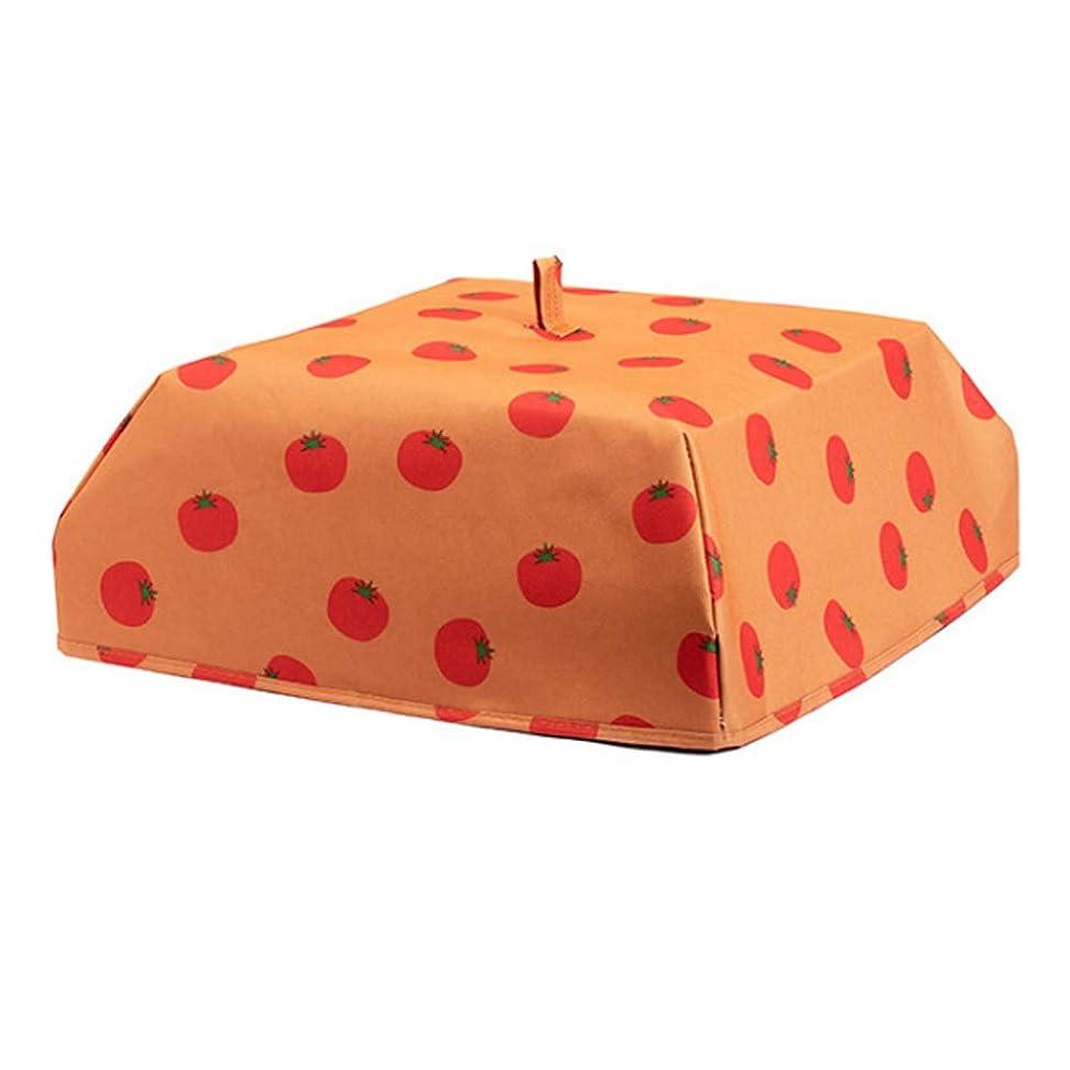 インチ適切にベールPaulcans 食品カバーポータブル熱オックスフォード布アルミフィルムカバー折りたたみ食品テント