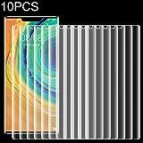 Protector Compatible Pantalla LCD de 10 PCS para Huawei de Mate 30 Pro Ultra Delgada Pantalla 9H 2.5D Templado Curvado de Vidrio película Protectora