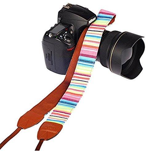 Cla correa para cámara de fotos con S-XXL el hombro correa de cuello correa ajustable de neopreno para DSLR Canon Fuji Fujifilm Leica Nikon Pentax Olympus Sony Panasonic Pentax Samsung Sigma-adaptout marca francesa