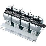 (まとめ買い)コクヨ 数取器 4連式 CL-204 【×3】
