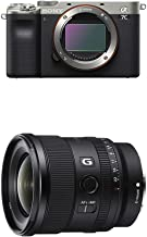 ソニー 世界 フルサイズミラーレス一眼 α7C ボディ シルバー ILCE-7C S + ソニー SONY 単焦点レンズ FE 20mm F1.8 G Eマウント35mmフルサイズ対応 SEL20F18G