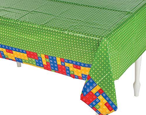 LEGO bloques de construcción fiestas (platos, vasos, servilletas y mantel de, Tablecover (Single)