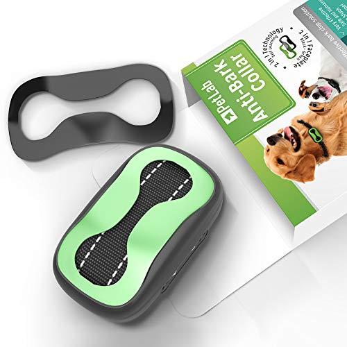 Collar Antiladridos para Perros Pequeños y Grandes Dispositivo Antiladridos Perros Collar Adiestramiento Anti Ladrido para Perro Anti Bark Collar 🔥
