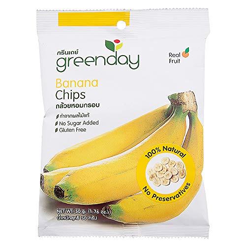 greenday バナナ ドライフルーツ フルーツチップス お菓子 おやつ 低カロリー ダイエット 有機オーガニック素材 無農薬 無化学肥料