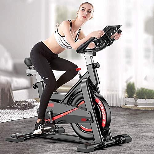 WYZXR Bicicleta estática para el hogar, con Resistencia a la Velocidad, Equipo para Bajar de Peso, para Hombres, Mujeres y niños