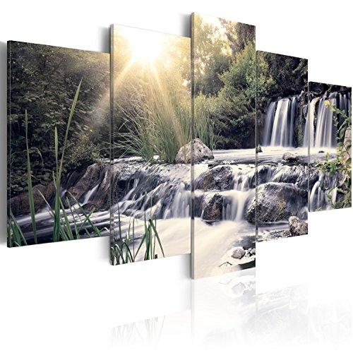 B&D XXL murando Quadro su Vetro Acrilico200x100 cm - 5 Parti Quadro Moderno Impreso Stampa Immagini Murale Fotografia Decorazione da Parete c-C-0026-k-p