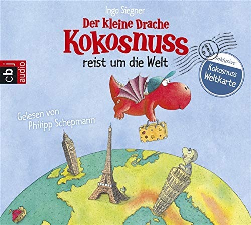 Der kleine Drache Kokosnuss reist um die Welt (Vorlesebücher, Band 3)