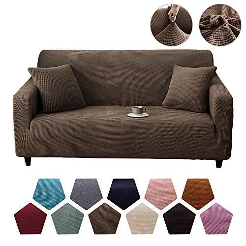 Nicole Knupfer - Funda para sofá (1/2/3/4), marrón claro, 1-Seater 90cm*140cm