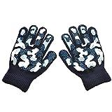 Esplic Magic Stretch Winter Kinderhandschuhe, Winter Warme rutschfeste Handschuhe Für Jungen Kinder Kinder (geeignet Für 5-12 Jahre Alt)
