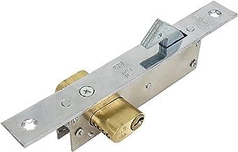 Slotcilinder IJzeren poort/schuifdeur haakslot, koperen haak, voor plastic stalen deur, koperen slotcilinder, sterker Deur...