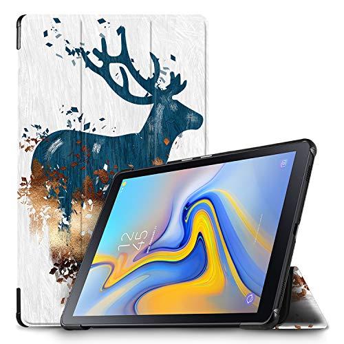 IVSO Hülle für Samsung Galaxy Tab A 10.5 SM-T590/T595, Slim Schutzhülle mit Auto Aufwachen/Schlaf Funktion Perfekt Geeignet für Samsung Galaxy Tab A SM-T590/SM-T595 10.5 Zoll 2018, Slate