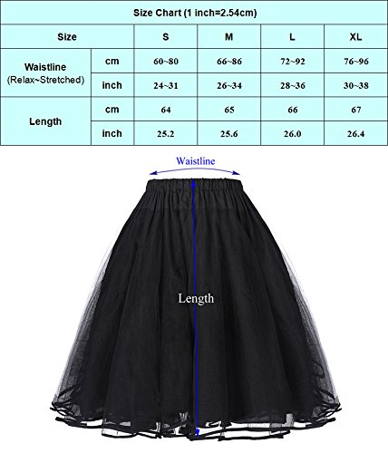 50s Vintage Petticoat Unterrock Petticoat Weiss - 3