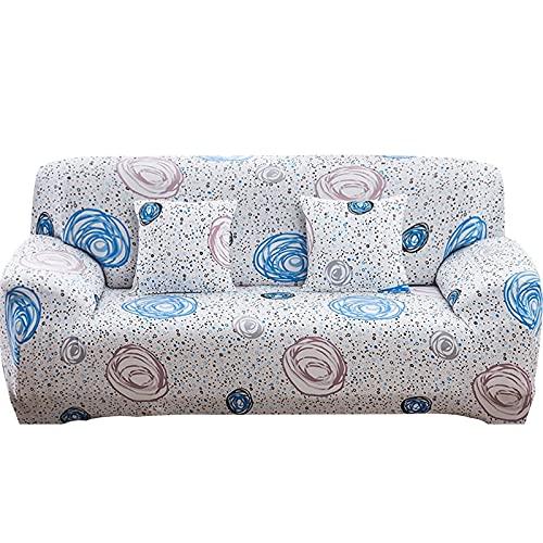WXQY Funda de sofá elástica con Todo Incluido, Funda de sofá en Forma de L Funda de sillón para Sala de Estar, Funda de protección de Muebles A23 1 Plaza
