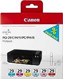 Canon Tintenpatrone PGI-29 C/M/Y/PC/PM/R Multipack mit 6 Tinten - 36 ml - Original für Tintenstrahldrucker