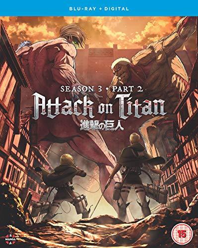 Attack on Titan: Season Three Part Two - Blu-ray [Reino Unido] [Blu-ray]