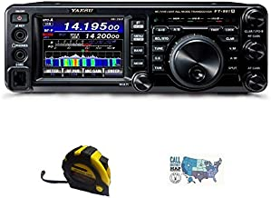 Bundle - 3 Items - Includes Yausu FT-991A HF/50/140/430MHz All-Mode Field Gear Radio with The New Radiowavz Antenna Tape (...