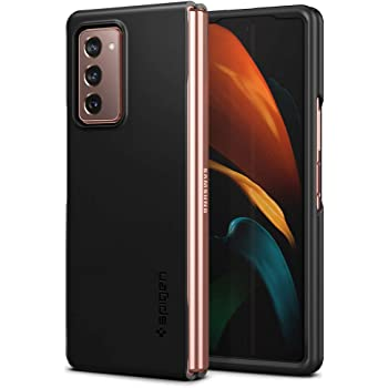Spigen Thin Fit Designed for Samsung Galaxy Z Fold 2 Case (2020) - Black