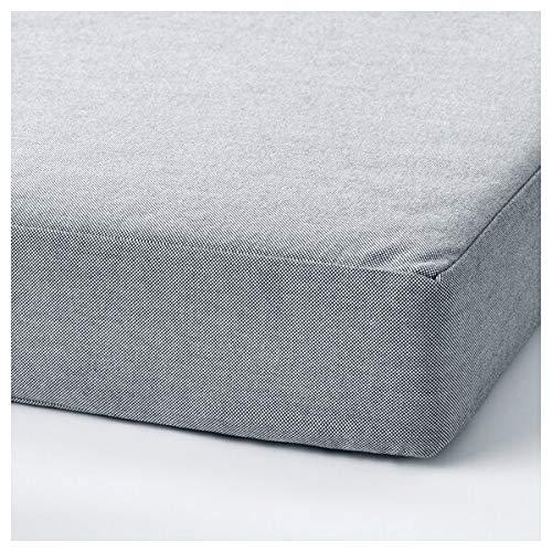 DiscountSeller SLÄKT - Puff/colchón plegable (193 x 62 x 9 cm, resistente y fácil de cuidar, camas individuales, camas infantiles, sofás y sillones, camas, respetuoso con el medio ambiente