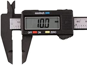 Generic 150mm/6Inch Lcd Digital Electronic Carbon Fiber Vernier Caliper Gauge Micrometer
