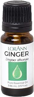 LorAnn Ginger Oil (100% Pure Food Grade) 1/3 ounce Dropper Bottle