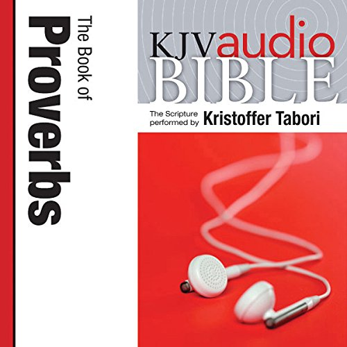 King James Version Audio Bible: The Book of Proverbs cover art