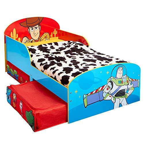 Disney Toy Story 4-Cama Infantil para niños pequeños con cajón Inferior, 2