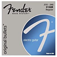 Fender Electric Guitar Pure Nickel Bullet End.010 - .046[エレキギター弦]