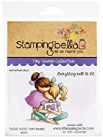Stamping Bella Cling Stamps-There There Tiny Townie