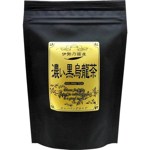 健康お茶家族本舗 伊勢乃國産 濃い黒烏龍茶ティーバッグ 80g