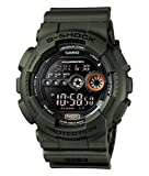 Casio G-Shock Digital Herrenarmbanduhr GD-100MS grün, 20 BAR