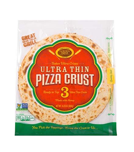 Golden Home Ultra Thin 3 Piece, Pizza Crust 14.25 Ounce