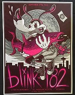 an American Rock Band Blink one Eighty Two Matt Skiba 12 x 18 inch Poster Get Motivation Blink-182 Mark Hoppus Travis Barker