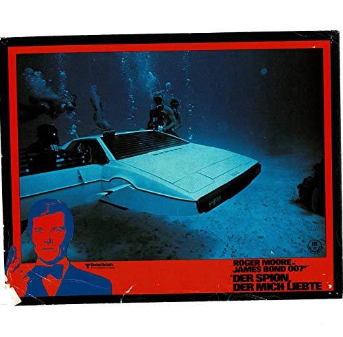 James Bond 007 - Der Spion, der mich liebte - 14 Aushangfotos - 24x30cm (341)