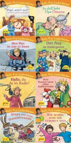 Pixi-Serie Nr. 176: Rolfs Pixi-Liederbücher: 8 x 8 Stück