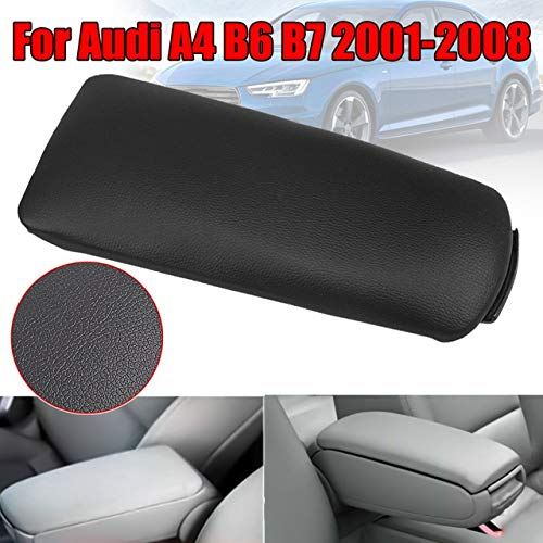 JINGXIANG Armauflagen Center Box-Konsole Deckel Abdeckung gepasst Fit for 2001-2008 Audi A4 B6 B7 Styling Mittelarmlehne Konsole Deckel Box Cover (Color Name : 1 pc)