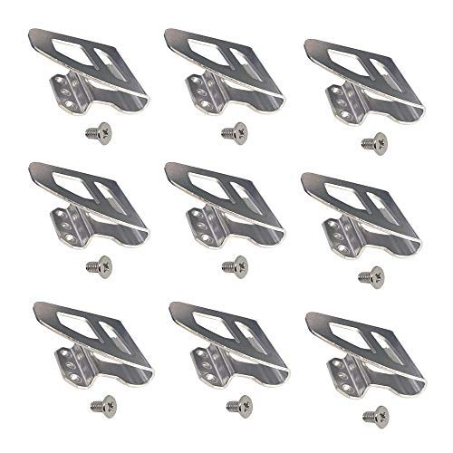 9pcs Replacement Belt Clip Hook for Milwaukee Work with m18 Tool Impact Driver Hammer Drill Replace for 42-70-2653