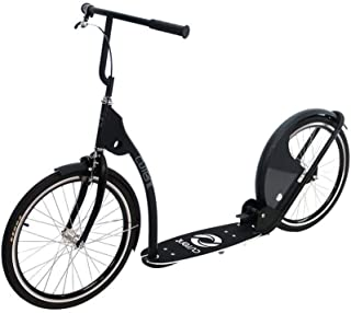 "Current Coasters Foldable Kickbike Scooter for Teens and Adults with 20"" Wheels"
