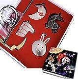GUGUBU Tokyo Ghoul Ken Kaneki máscara espada escudo collar llavero regalo Boxset
