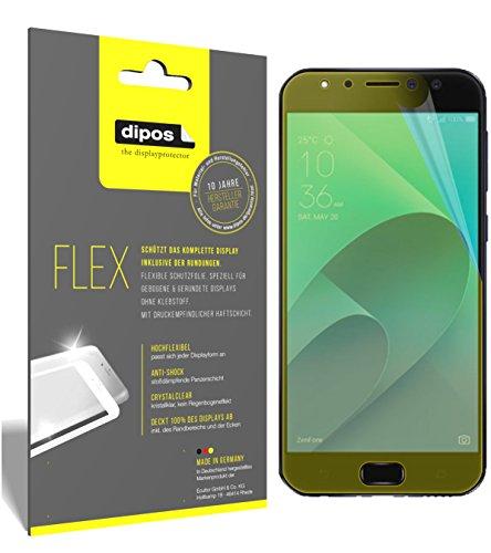dipos I 3X Schutzfolie 100prozent kompatibel mit Asus Zenfone 4 Selfie Pro ZD552KL Folie (Vollständige Bildschirmabdeckung) Bildschirmschutzfolie