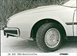 1982 Citroen CX GTi - Vintage Press Photo