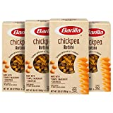 Barilla Chickpea Rotini Pasta, 8.8 Ounce (Pack of 4) - Plant Based Protein Pasta - Naturally Gluten Free Pasta - Chickpea Pasta - Vegan Pasta