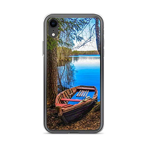 blitzversand Funda para teléfono móvil Boat Trip Relax compatible con Huawei P9 Plus, diseño de barco de madera, funda protectora transparente alrededor de la protección de dibujos animados M13