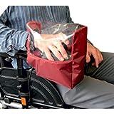 Kozee Komforts Panel de control eléctrico para silla de ruedas - Granate