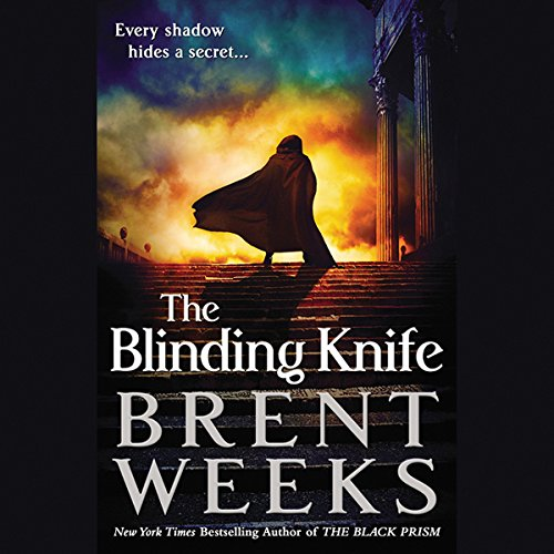 The Blinding Knife audiobook cover art