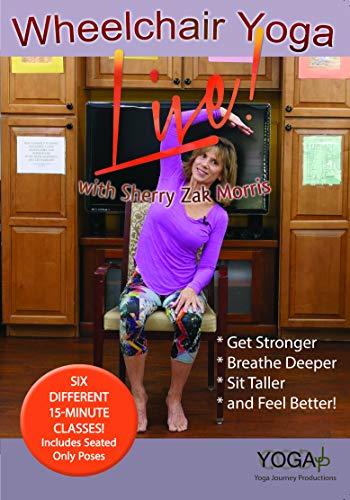 Wheelchair Yoga DVD with Sherry Zak Morris, C-IAYT