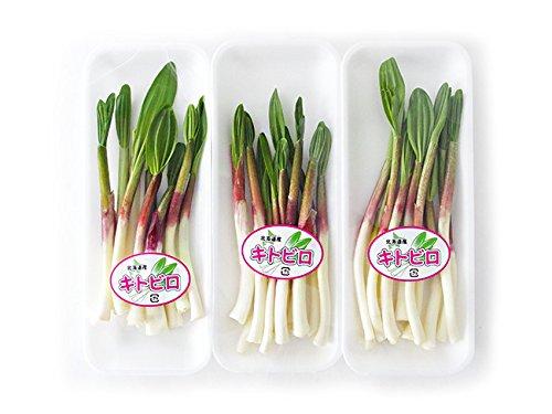 行者にんにく50g×3パック(北海道産)ハウス栽培 北海道産行者ニンニク アイヌネギ(ぎょうじゃ大蒜)春の山菜