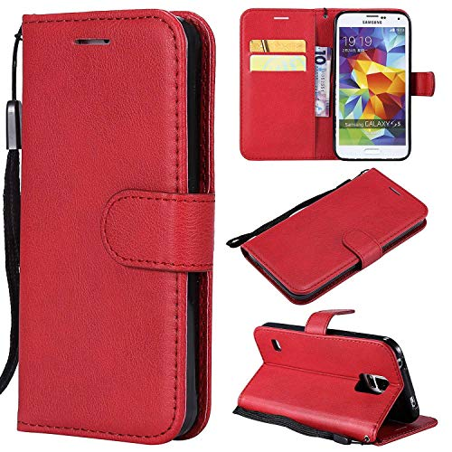 boxtii–Carcasa iphone 6/iPhone 6s, Funda de piel Flip Billetera Funda de Protección con GRATIS Protector de pantalla de vidrio templado para Apple Iphone 6/iPhone 6s
