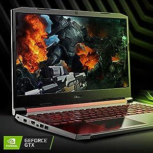 "Acer Nitro, 15.6"" FHD IPS, Ci5 9300H, GTX 1650, 8GB RAM, 256GB SSD, Windows 10, Black, AN515-54-5812"