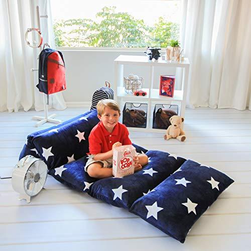 Butterfly Craze Pillow Bed Floor Lounger Cover - ...